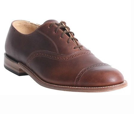 Canada West Shoes Brogue Shoe - PECAN