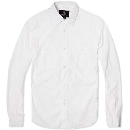 Nigel Cabourn Medical Shirt - White