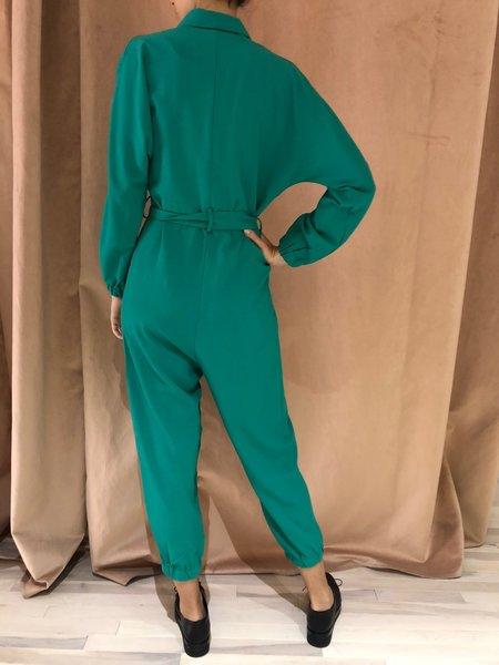 PEPALOVES AGATHA jumpsuit - GREEN