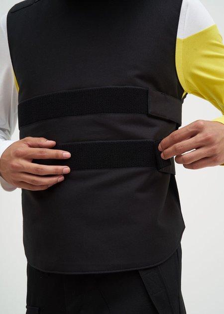 Helmut Lang Velcro Bulletproof Vest - Black