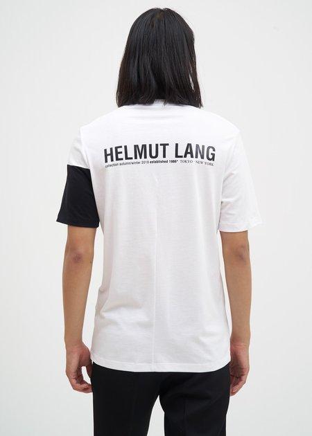 Helmut Lang Band Logo T-Shirt - White