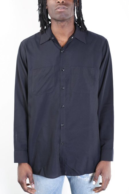 Rxmance Vintage Workwear Shirt - Black