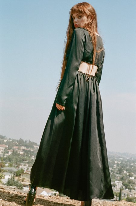 Priscavera Dirndl Skirt - Black