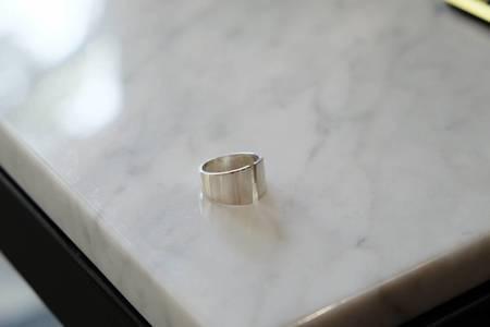 Kristen Elspeth Split Myth Ring - Sterling Silver