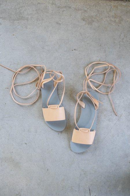 Kyma Amorgos Sandals - Grey/Natural
