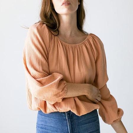 Suunday Clara Blouse - Peach Bloom