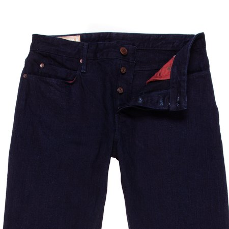 Freenote Cloth Portola Classic Taper Jeans - 13.25 oz Unsanforized Single Rinse Denim