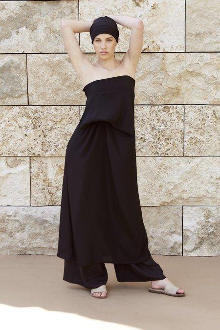 Mina Suku Dress - BLACK