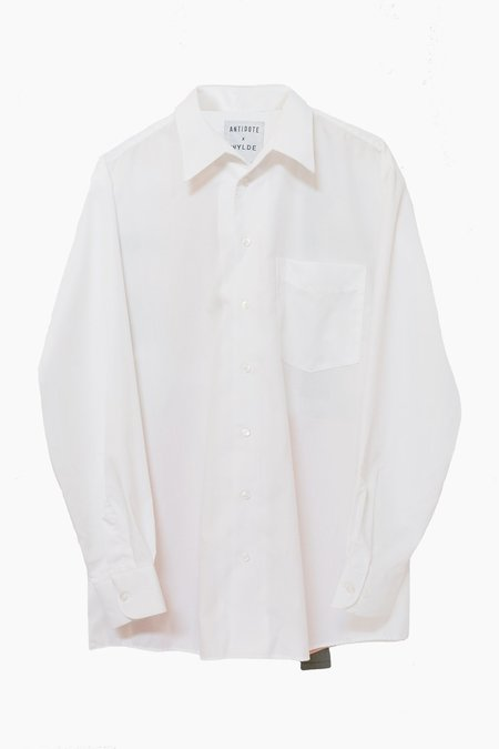 ANTIDOTE x WYLDE Shirt Dress - White