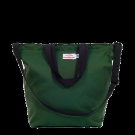 Unisex Battenwear Packable Tote Bag - Green
