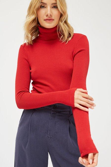 Lacausa Rib Turtleneck Sweater