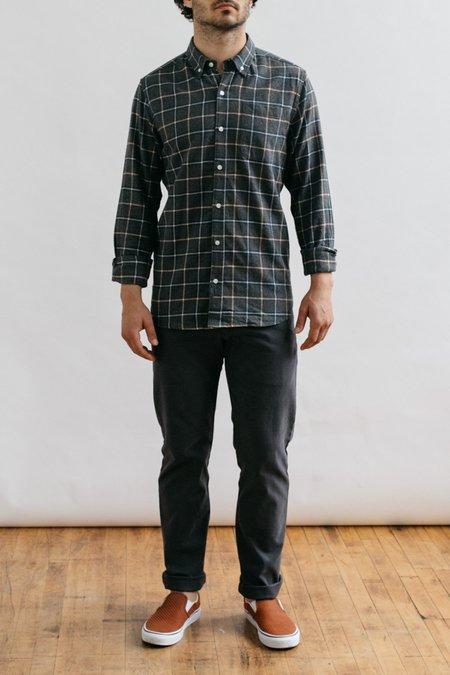 Bridge & Burn Sutton Shirt - Charcoal Windowpane