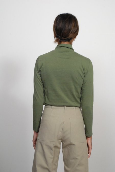 Creatures of Comfort Turtleneck Top - Pine