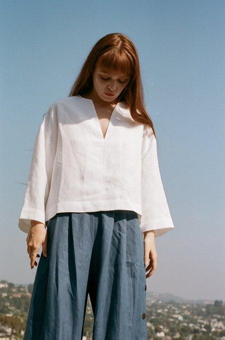 Mara Hoffman Jamie Top - White