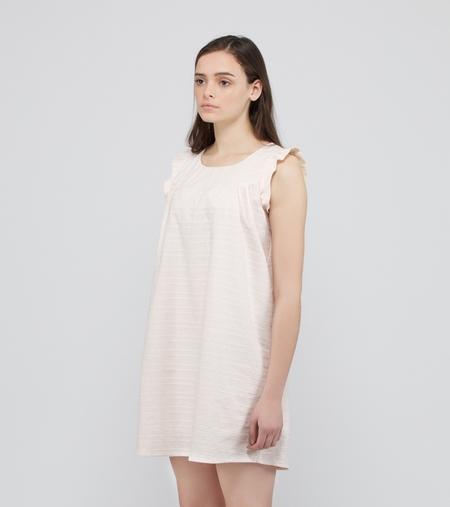 Acoté Summer Dress - LIGHT PINK/WHITE