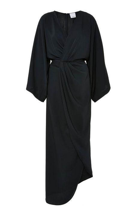 Acler Baker Dress - Licorice