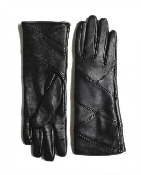 Quill & Tine Aiko Leather Glove - BLACK
