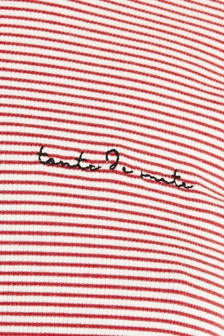 Maison Du Soir Toute De Suit Sleep Set - Red Stripe