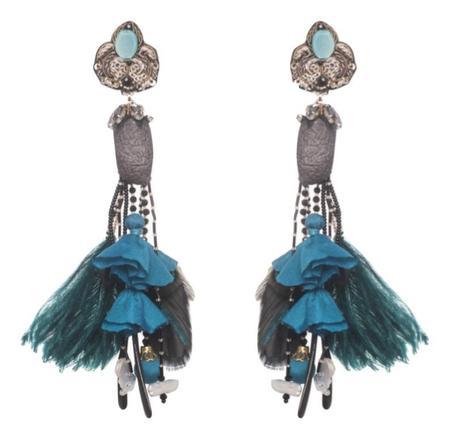 Ranjana Khan Acari Earrings