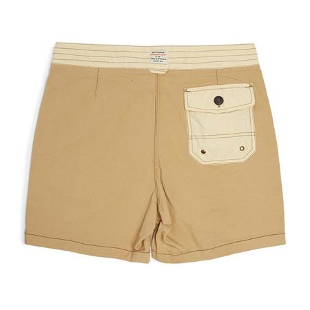 Deus Original Solid Boardshort - coffee