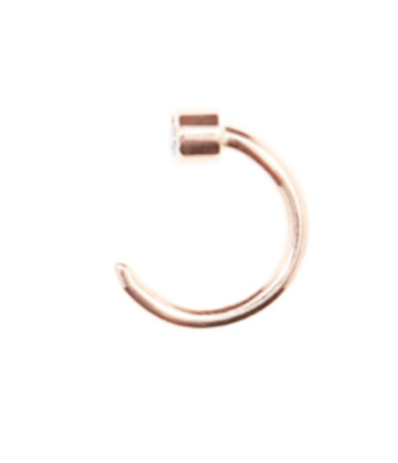 Beaufille Pistol Earring - Rose Gold