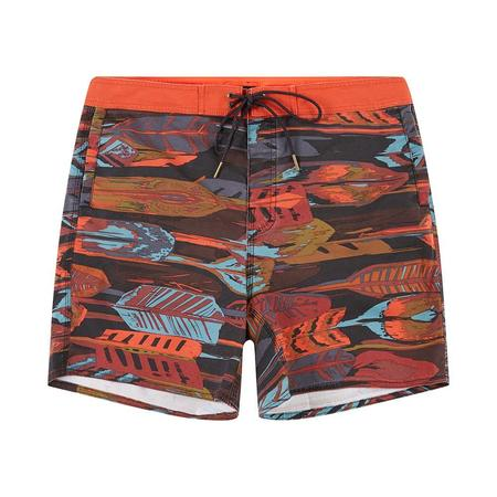 Deus The Burroughs 17 Inch Boardshort - Multi Leaves