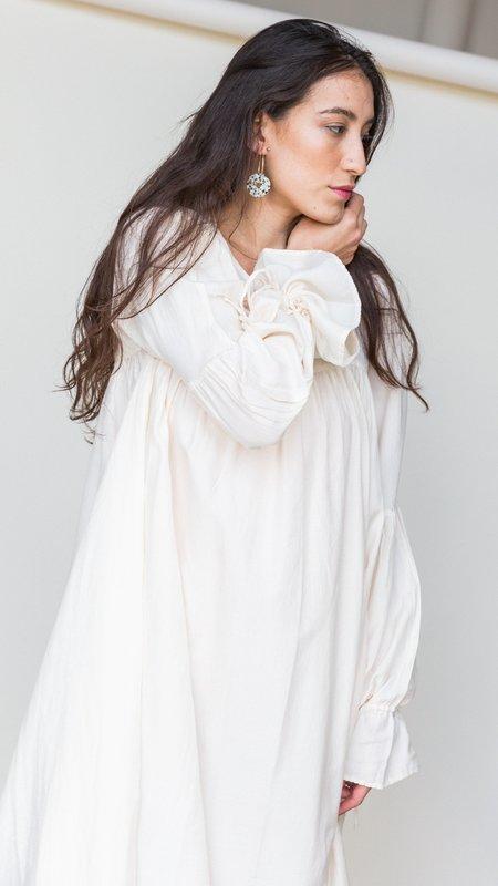 Selva Negra Phoebe Dress - Oatmeal