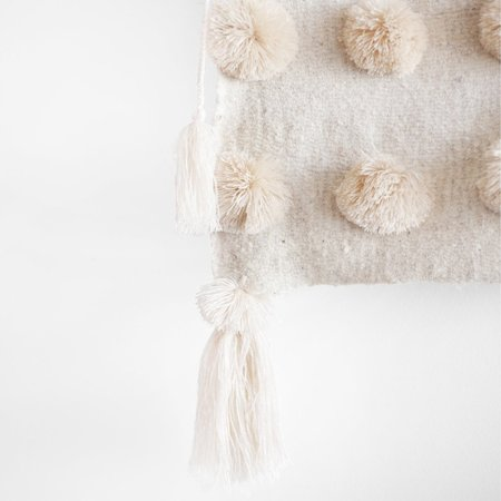 Valiente Goods Lani Pom Pom Throw/Bed Runner