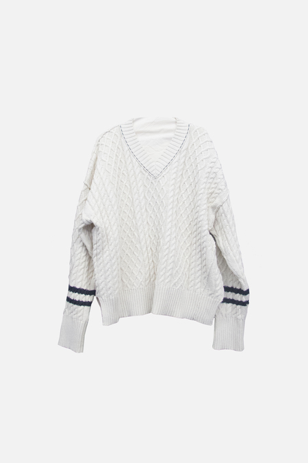 Adnym Atelier Baal Cable Knit - Off White