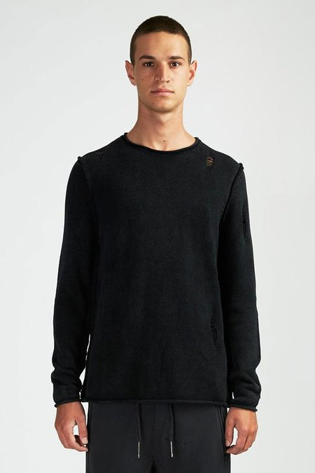 Ksubi Interval Knit - Washed Black