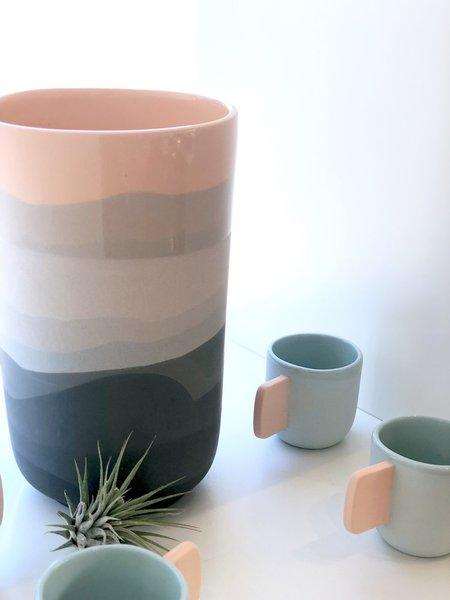 Peaches Large Vase