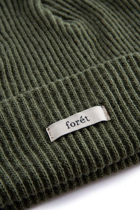 Forét River Beanie - Dark Green