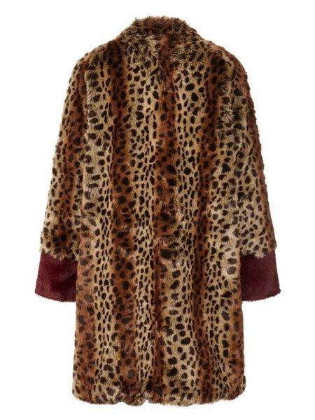 Lolly's Laundry Elisa Coat - Leopard Print