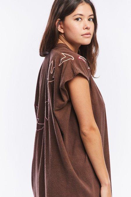 Miranda Bennett  x Ft. Lonesome Silk Noil Everyday Dress - Cutch, V.I
