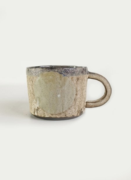 Ayame Ceramics Bone Moon Mug - Sage