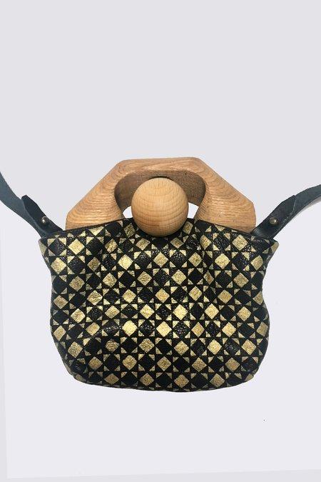 Eatable of Many Orders Original Tin Bag - Black/Gold