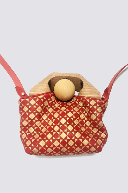 Eatable of Many Orders Original Tin Bag - Red/Gold