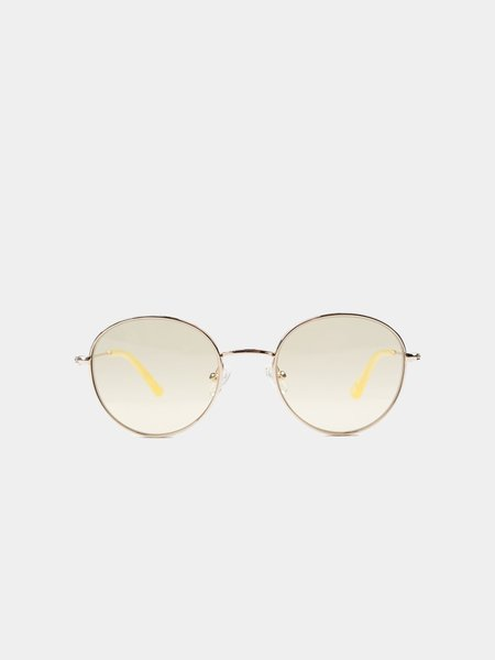 Sun Buddies Ozzy Sunglasses - Gold/Pineapple