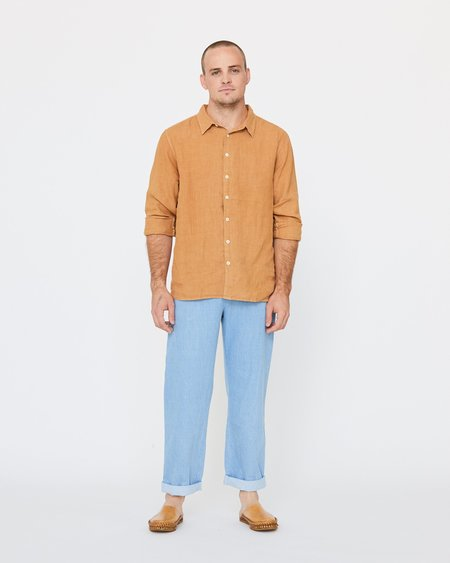 esby PERCY BUTTON DOWN - GOLDEN
