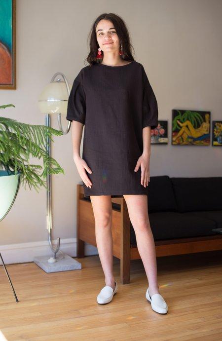 Eve Gravel Tempete Dress - Black