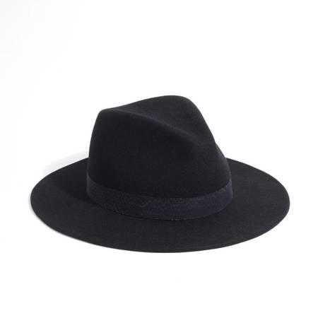 Yestadt Millinery Nomad Hat - BLACK