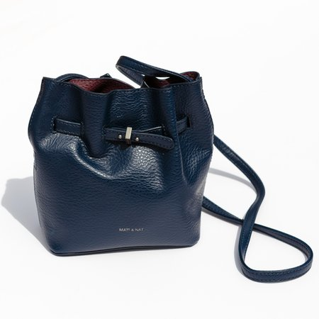 Matt & Nat Lexi Mini Bucket Bag - Black