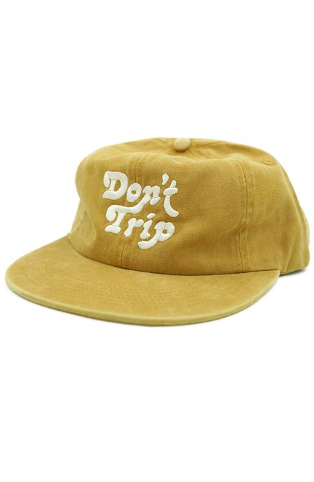 Free & Easy Don't Trip Washed Hat - Mustard