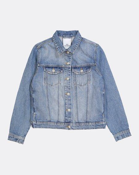 Won Hundred Seventeen Distressed Denim Jacket - Blue