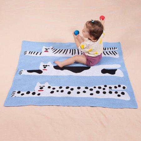 Slowdown Studio Mini Cool Cats Blanket