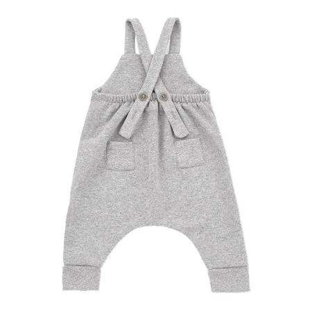 KIDS 1+ In The Family Baby And Child Gerard Overall - Light Grey
