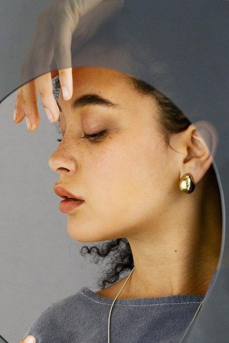 Seaworthy Madagas Earrings - Brass