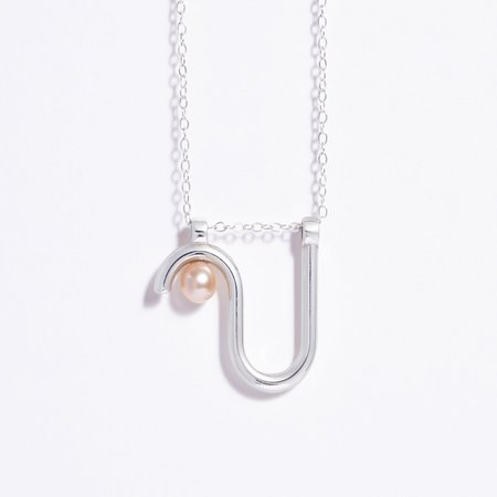 Metalepsis Projects Arco Necklace - Silver