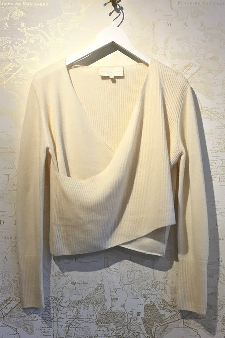 Michelle Mason Cross Wrap Sweater
