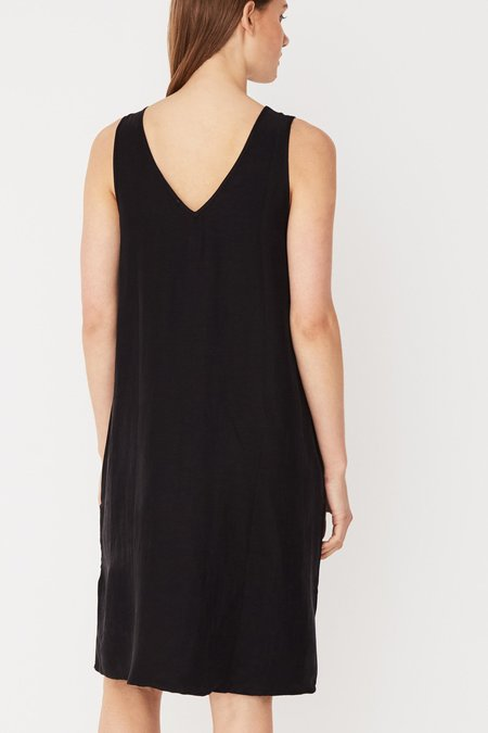 Assembly Contrast Dress - Black